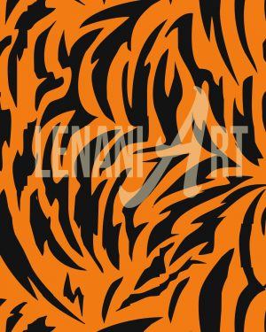 Seamless Tiger Pattern
